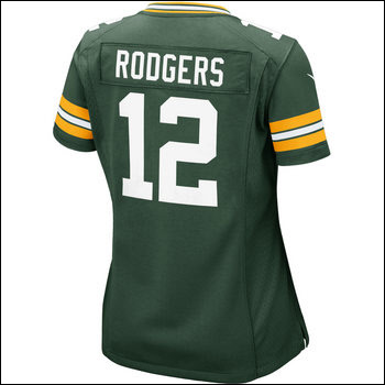 Ladies Rodgers Nike Game Jersey