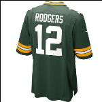 Rodgers Nike Game Jersey