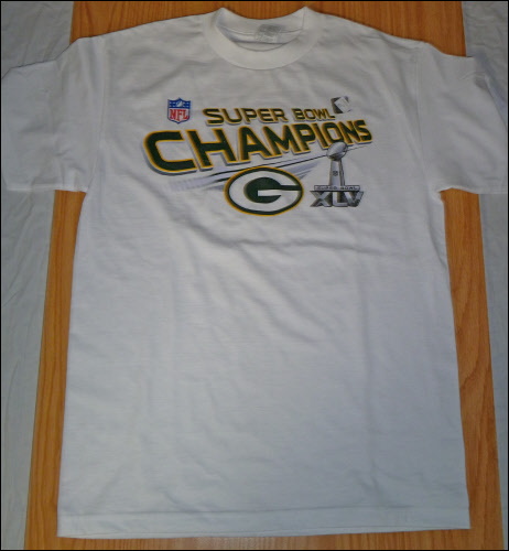 Green Bay Packers Championship Shirts b3162a899