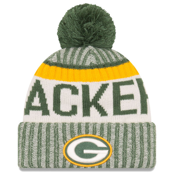 117f3509f9e Packers Green 2017 Sideline Official Sport Knit Hat