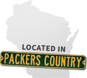 Located In Packers Country - Wisconsin